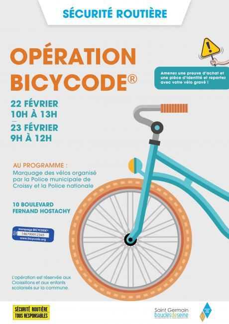 MAJ opération bicycode
